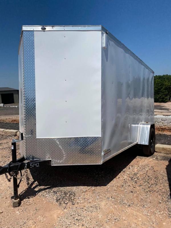 2021 Deep South 6x12 Single Axle Enclosed Cargo Trailer -