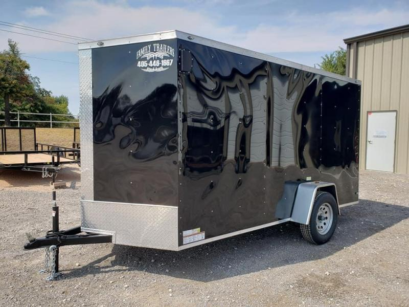 2022 Family Trailer 6x12 Single Axle Enclosed Cargo Trailer