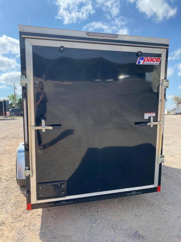 2021 Pace American 6x12 Single Axle SE Enclosed Cargo Trailer