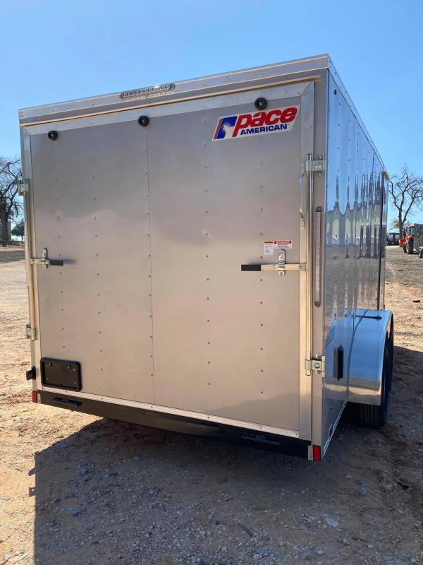 2022 Pace American 7x16 Tandem Axle Enclosed Cargo Trailer --