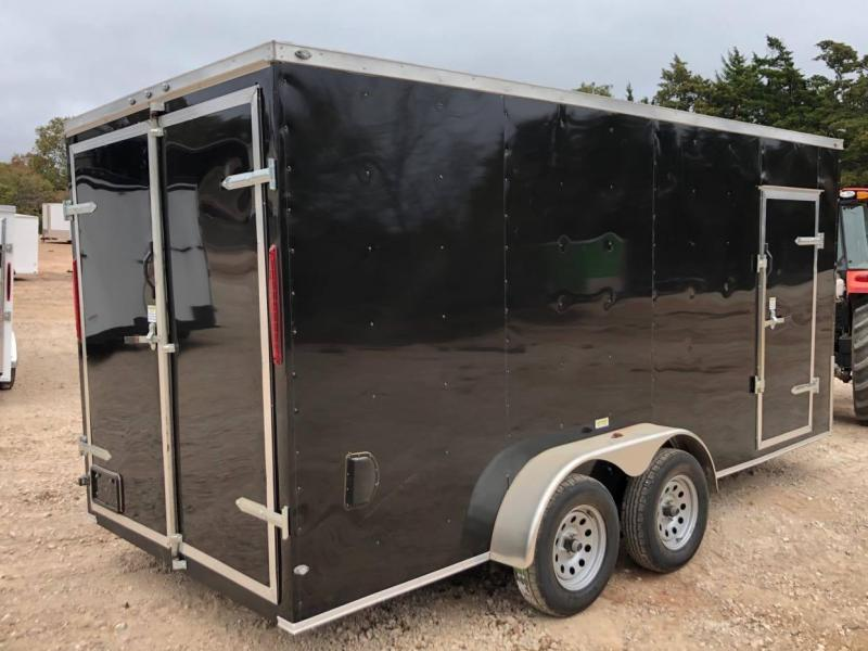 2020 Deep South 7x16 Tandem Axle Enclosed Trailer -NEW--