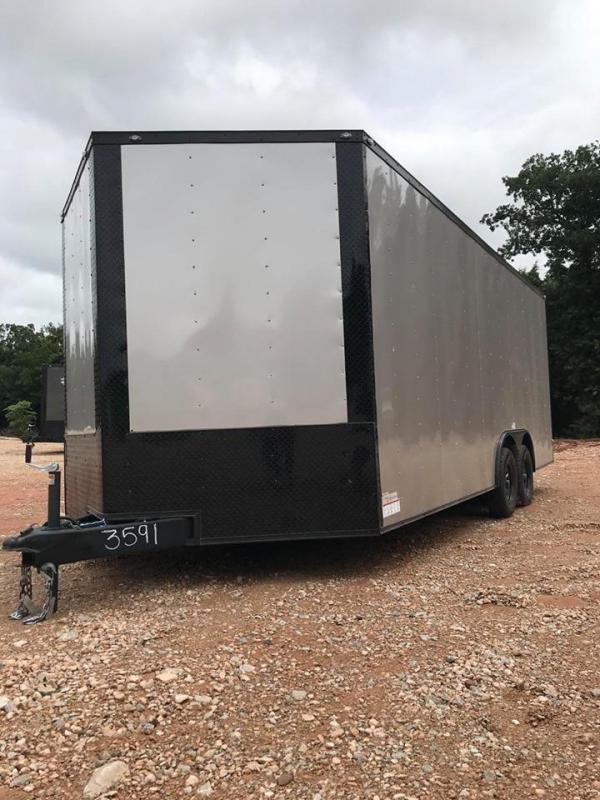 2020 Deep South 8.5x20 Tandem Axle Enclosed Cago Trailer - NEW!!