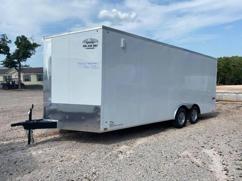 2022 Pace American 8.5x20 Enclosed Cargo Trailer SCREWLESS --