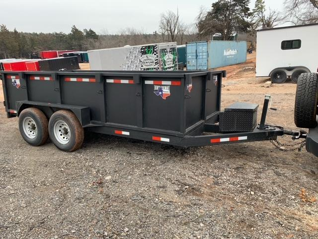 2021 Deep South 7x14 Tandem Dump Trailer