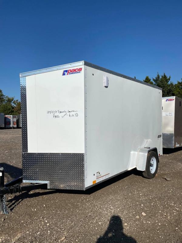 2022 Pace American 6x12 Single Axle SE Enclosed Cargo Trailer