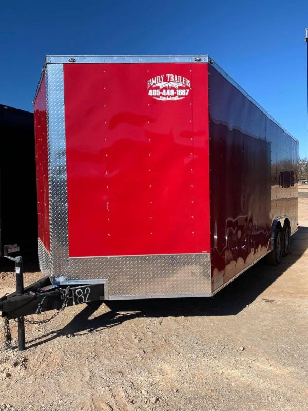 2021 Deep South 8.5x20 Tandem Axle Enclosed Cargo Trailer -  3500lb Axles--