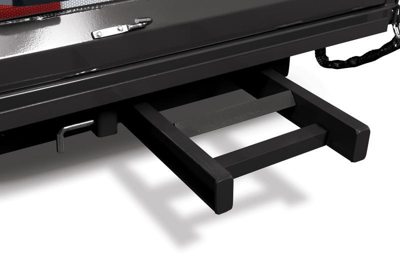 Sure-Trac HD Deckover Dump w/ Fold-Down Sides