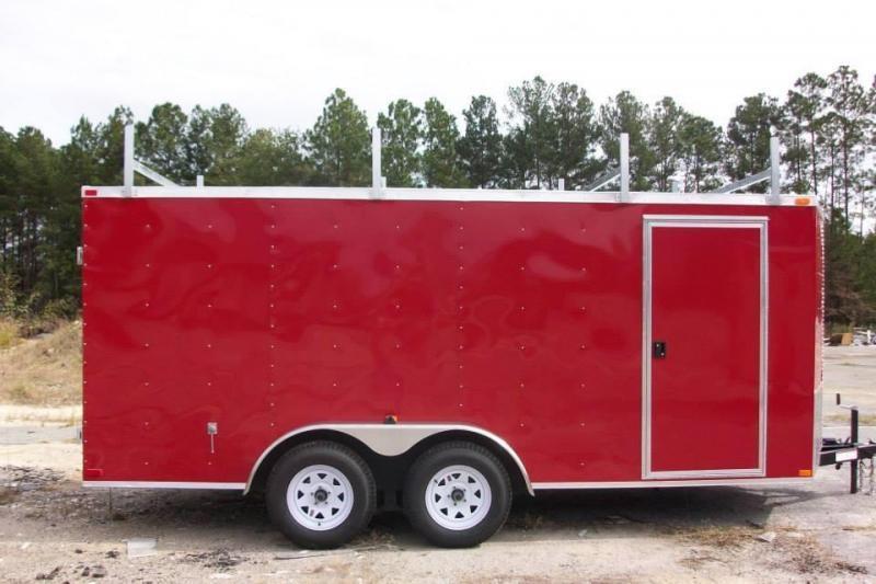 Arising 7 x 18 Tandem Axle Enclosed Cargo Trailer