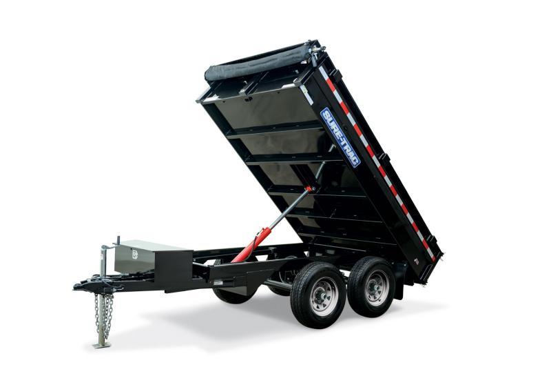 Sure-Trac SD Deckover Dump