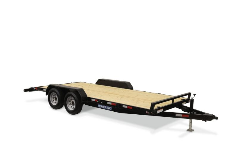 Sure-Trac C-Channel Car Hauler