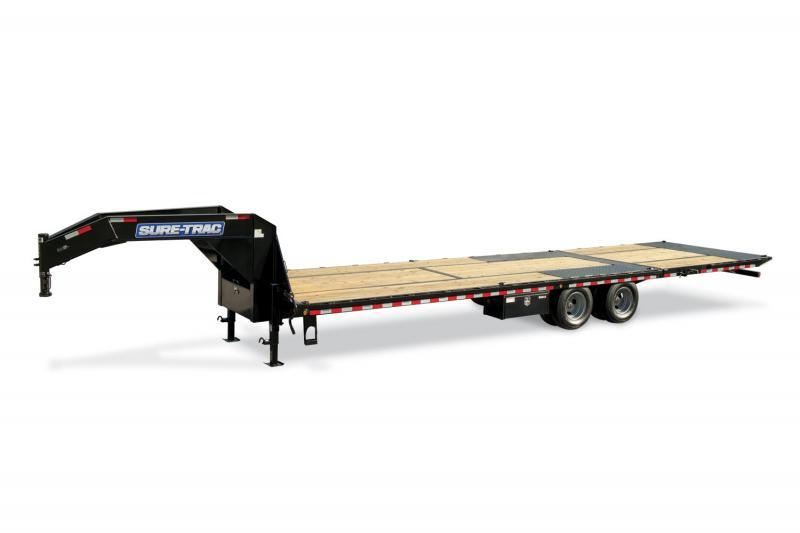 Sure-Trac HD Deckover w/ Hydraulic Beavertail