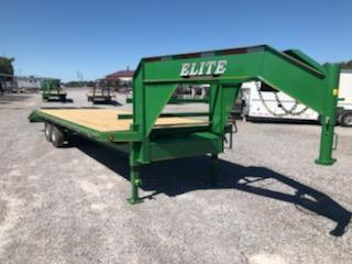2020 Elite 20+5 GN Deckover Equipment Trailer