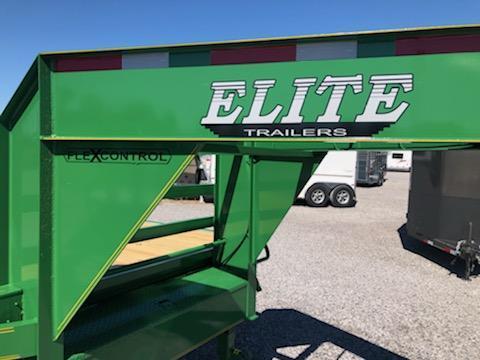 2020 Elite 20+5 GN Deckover Equipment Trailer
