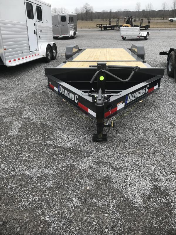 2021 Diamond C Trailers HDT207-L22X82 Equipment Trailer
