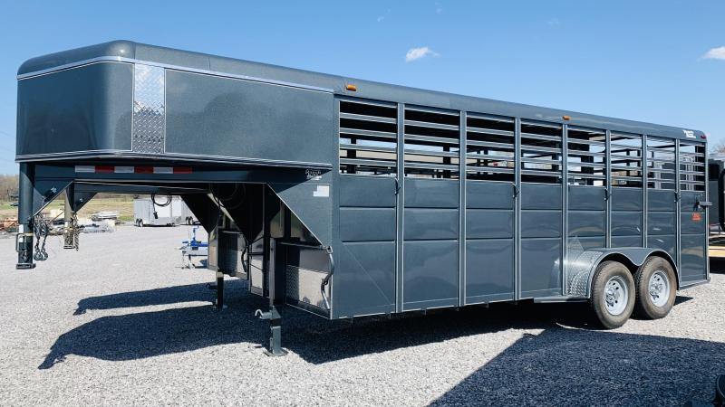 2021 Ranch King 20' GN Livestock Trailer