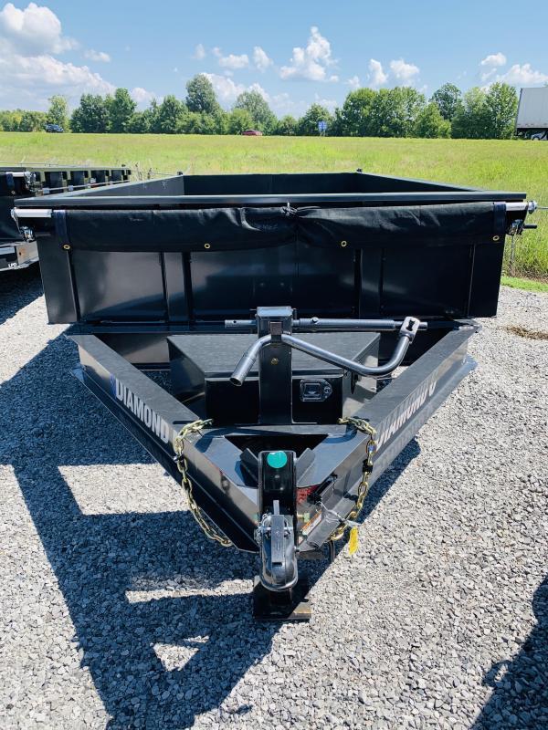 2021 Diamond C Trailers 21 DC 14x82 Low Pro Dump Trailer Dump Trailer