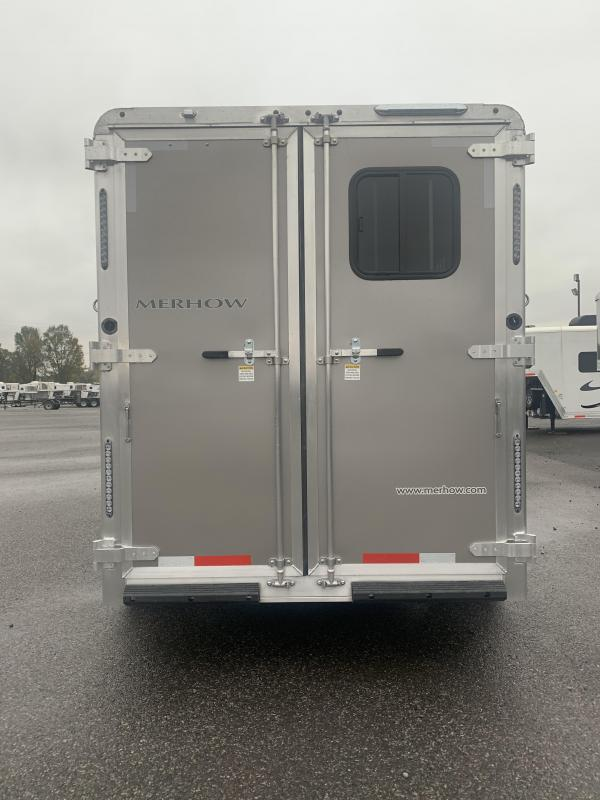 2020 Merhow Trailers 7207 N/S Horse Trailer