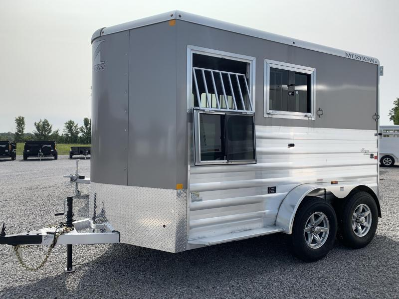 2020 Merhow Trailers 2H SL BP Horse Trailer