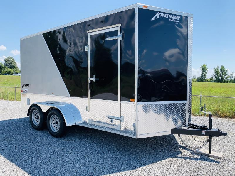 2021 Homesteader Trailers 21 HS 714 IT O H V 7ft Enclosed Cargo Trailer