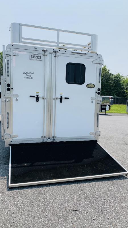 2019 Merhow Trailers 8416RWS-B Horse Trailer