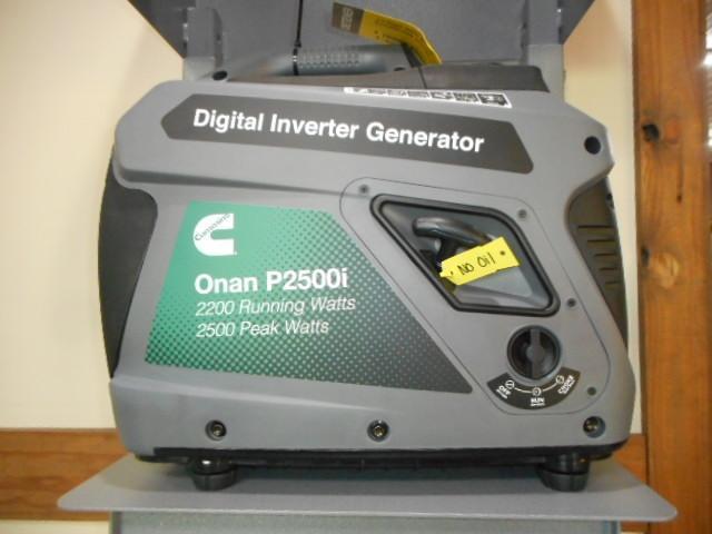 2020 Cummins Onan P2500i Generator