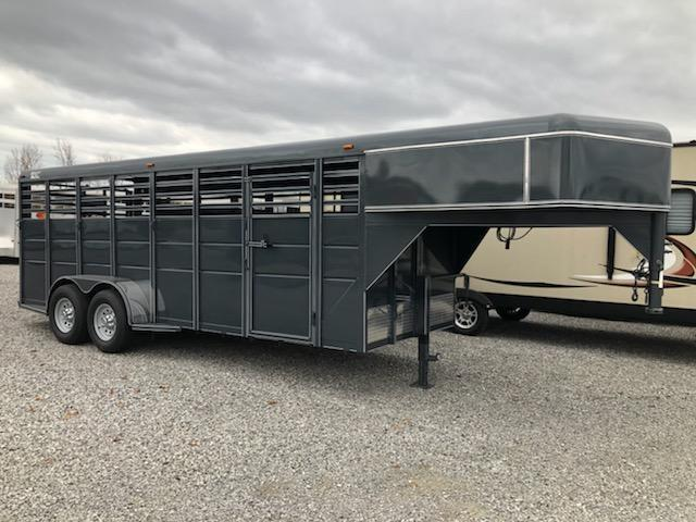 2021 Ranch King GN Stock Livestock Trailer