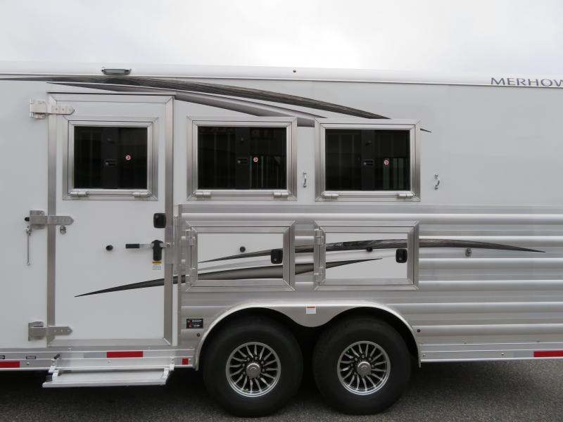 2021 Merhow Trailers 8317 RWTS-A FARMHOUSE Horse Trailer