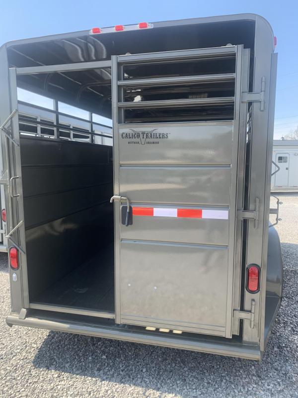 """2020 Calico Trailers 16x6x6'6"""" Livestock Trailer"""