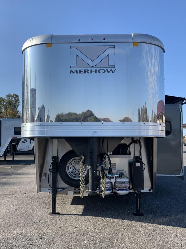2022 Merhow Trailers 8313 RW-S Horse Trailer