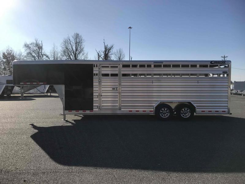 2021 Cimarron Trailers Lonestar GN Livestock Trailer