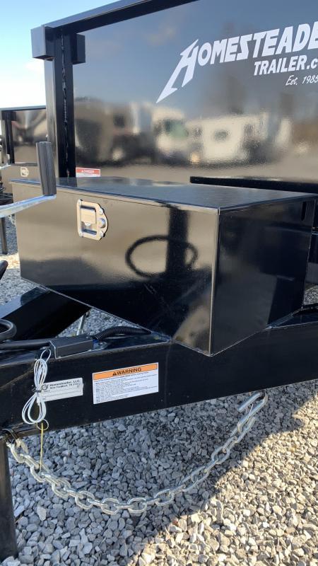 2021 Homesteader Dump Trailer 610 MB Dump Trailer