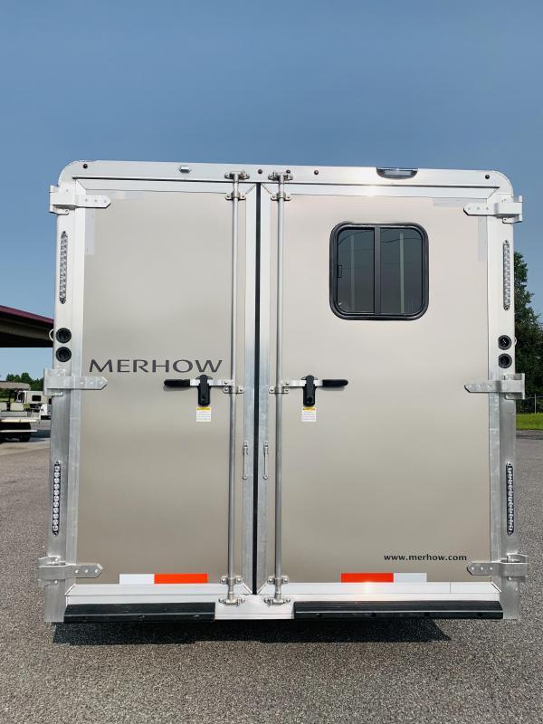 2021 Merhow Stampede 8316-A RWS Horse Trailer