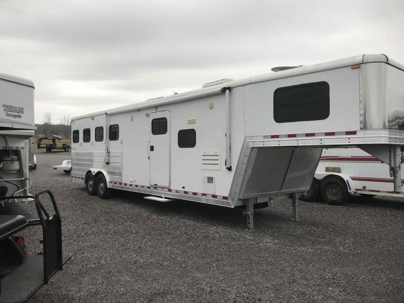 2007 Keifer Built 4H GN Horse Trailer