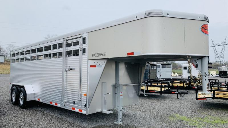 2021 Sundowner 20' GN Rancher Express  Livestock Trailer