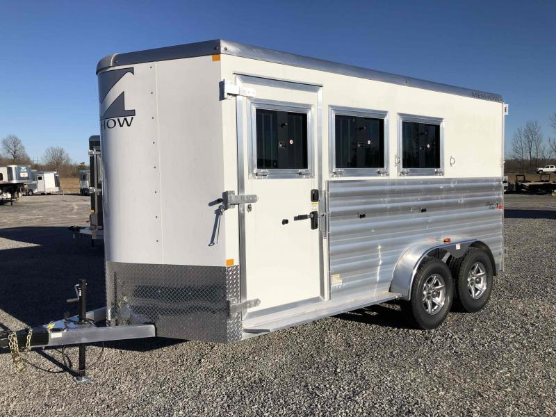 2021 Merhow Trailers 3H SL BP Horse Trailer