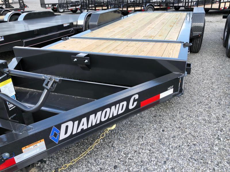 2020 Diamond C  HDT 207-20x82 Equipment Trailer
