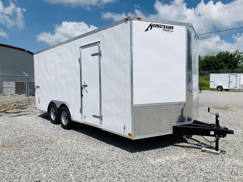 2021 Homesteader 818 IT Enclosed Cargo Trailer