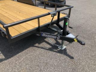 2020 Diamond C Trailers PSA135 10x77 Utility Trailer