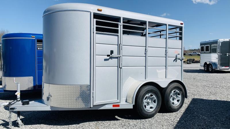 2021 Calico 12x6x7 BP Horse Trailer
