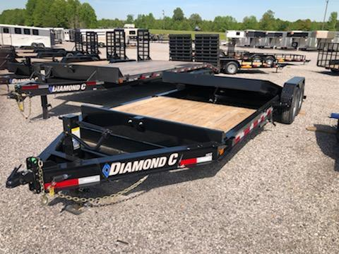 2020 Diamond C Trailers HDT207-22x82 Equipment Trailer