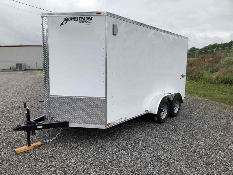 2021 Homesteader 714 IT Enclosed Cargo Trailer