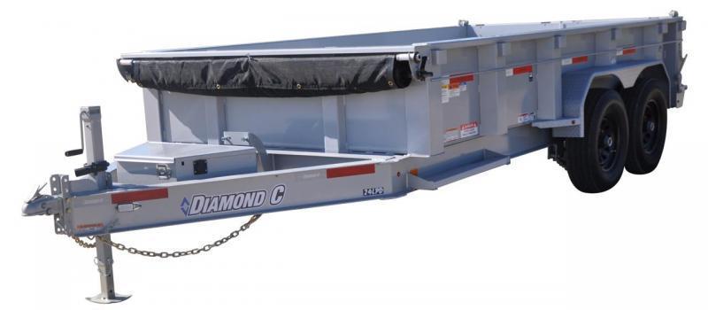 2020 Diamond C LPD207 14x82 Dump Trailer