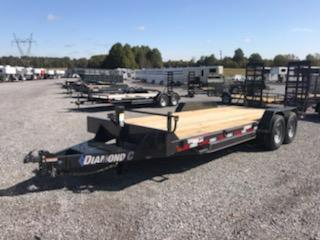 2021 Diamond C EQT 207 20x82 Equipment Trailer