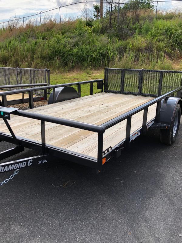 2019 Diamond C Trailers PSA135-L10x77 Utility Trailer
