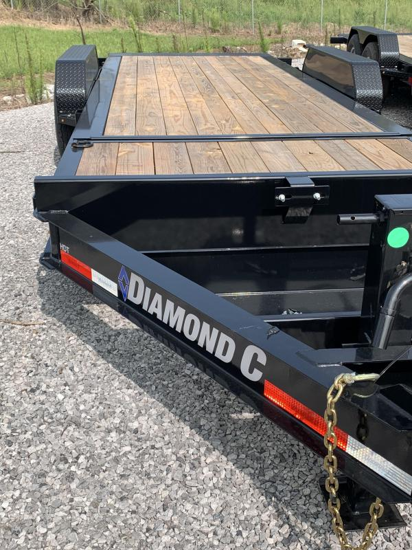 2020 Diamond C Trailers 20 DC HDT207 20x82HD Equip Utility Trailer
