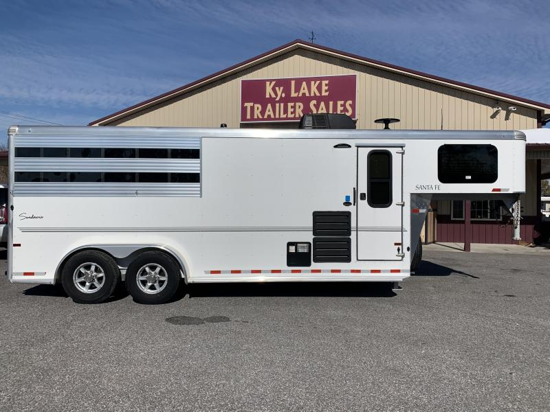2020 Sundowner 6906 3H Super Sport Horse Trailer