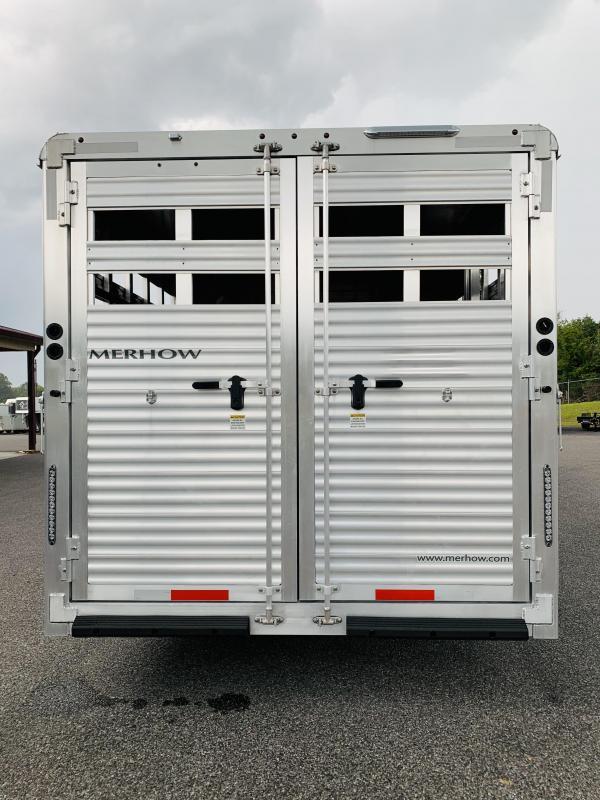 2020 Merhow Trailers 8013.5 STOCK-COMBO Horse Trailer