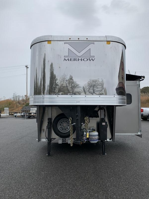 2021 Merhow Trailers 8311 RW-RS Horse Trailer