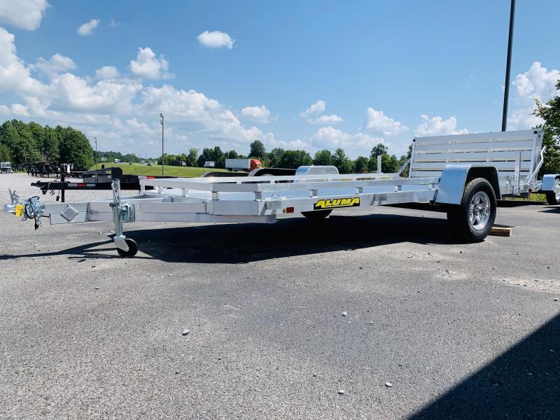2021 Aluma 7814S-BT-TR Utility Trailer