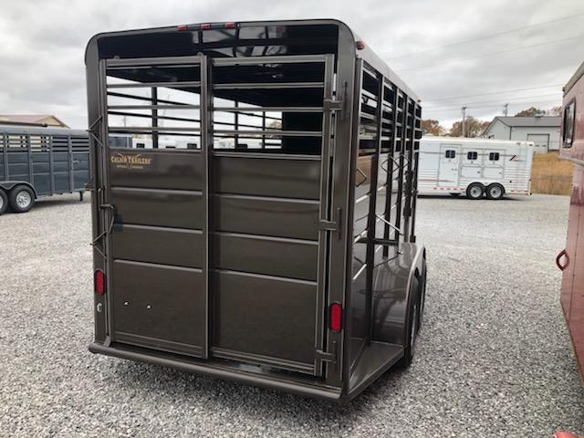 2021 Calico Trailers BP Stock Livestock Trailer